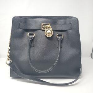 Michael Kors Black Hamilton Large Bag